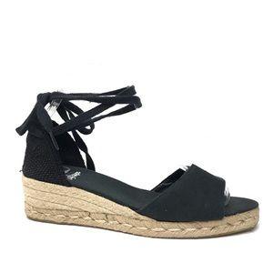 afd3138adb81 CASTANER Black Espadrilles Sandals 40